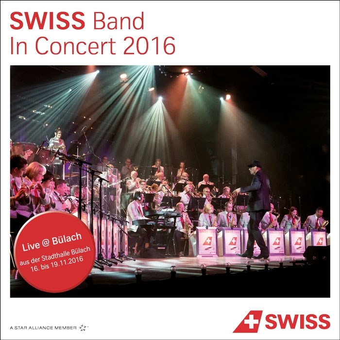 Swiss Band In Concert 2016 - CD Cover